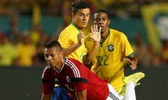 Coutinho features in Brazil win