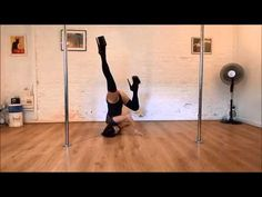 Pole Dance Tutorial: How to do a Fish Flop - YouTube