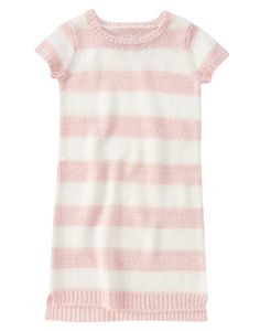 Currently available via Crazy9.com - Girls Stripe Sweater Dress