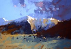 Tony Allain - Storm Near Lake Tekapo