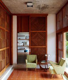 Brazilian Brutalism: Chez Georges Private Villa in Rio de Janeiro   Yellowtrace