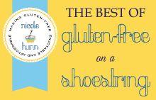 Gluten Free on a Shoestring author blog--gulten free on a budget eh? @Briana McDevitt