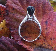 Coal and silver www.handmade-ja.com
