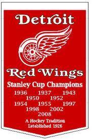 Detroit Redwings !