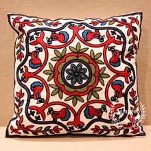2015 NEW Vintage Style Pillowcase Cotton Embroidery Pillow Case(China (Mainland))