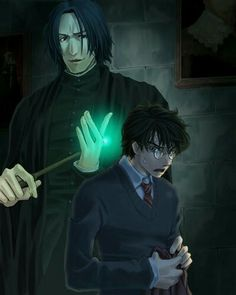 Harry and Severus XD