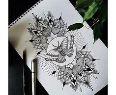Insta_blackwork tattoo
