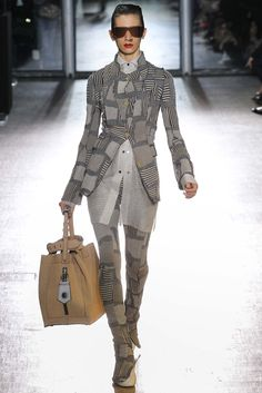 LOOK 14 (SHIRT AND HANDBAG) Acne Studios Fall 2015 Ready-to-Wear - Collection - Gallery - Style.com