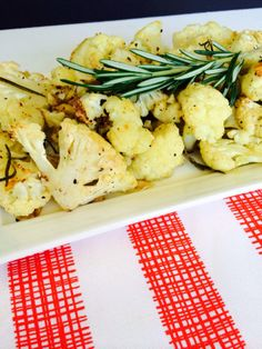 Garlic & Rosemary Cauliflower
