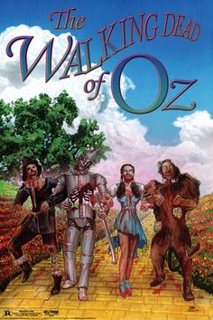 The Walking Dead of Oz !! This is one of the coolest and most wrong things I have ever seen! Love it! Fantastically clever!