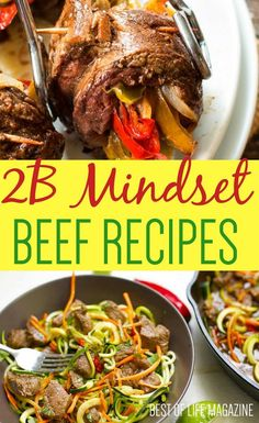 Most 2B Mindset recipes are friendly and completely adjustable and are already geared toward your plan. You will only need to adjust your ratio of veggies to beef to fit your plate and you are on your way! #2BMindset #Recipes #DietRecipes #DinnerRecipes Beachbody, Life Magazine, Healthy Nutrition, Healthy Snacks, Healthy Eating, Proper Nutrition, Low Carb Recipes, Diet Recipes, Healthy Recipes
