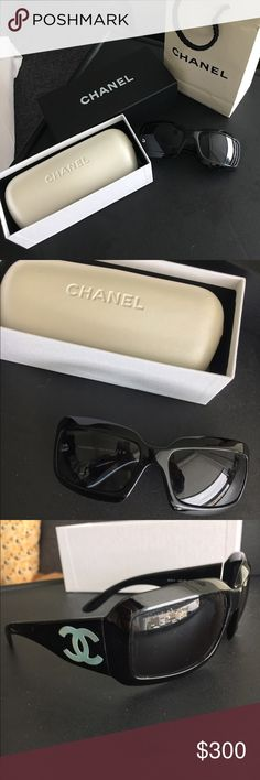 Chanel Mother of Pearl Sunglasses In excellent condition. 100% authentic; purchased from Nordstrom. I have the original receipt. Feel free to make an offer! CHANEL Accessories Sunglasses