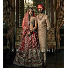 #sabyasachi #classic #bridalwear #lehenga #sherwani #womenswear #menswear #coordinated #zardosi #craftsmanship #textiles #jewellry #kishandasforsabyasachi