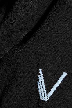 Versace - Stretch-knit Tank - Black - IT40