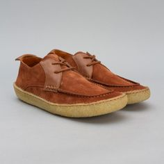 Native Craftworks Countryman Shoe in Rust Suede
