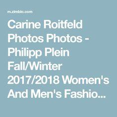 Carine Roitfeld Photos Photos - Philipp Plein Fall/Winter 2017/2018 Women's And Men's Fashion Show - Front Row - Zimbio