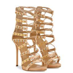 Kara - Sandals - Pink | Giuseppe Zanotti ®