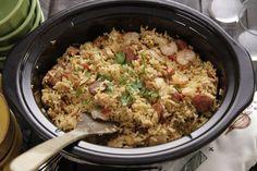 Camellia Beans: Make-Ahead Weeknight Dinner: Slow Cooker Jambalaya