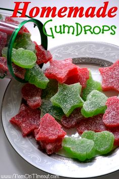 Homemade Gumdrops by MomOnTimeout