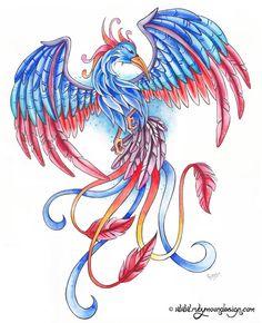Phenix Bird for Mom by RubyCherryShop