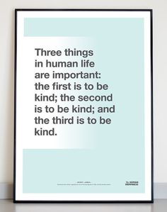 Typographic quote poster Henry James print A3 door TheHumanHappiness, €16.00