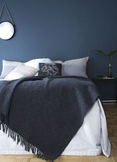 Surely beautiful Teen Girl Bedrooms for superb bedroom decor, number 3270746971 Pub Interior, Nordic Interior Design, Paint Colors For Living Room, Room Colors, Blue Gray Bedroom, Teen Girl Bedrooms, Dream Bedroom, Home Furniture, Bedroom Decor