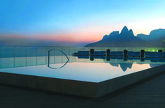 Sunset. Hotel Fasano Rio De Janeiro. Elegant sophistication in Ipanema. By Hotelied.