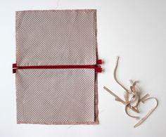 DIY pas à pas : jolie pochette en tissu Chen, Diy Clothes Videos, Kit, Ladder Decor, Dimensions, Crafts, Accessories, Pochette Diy, Simple