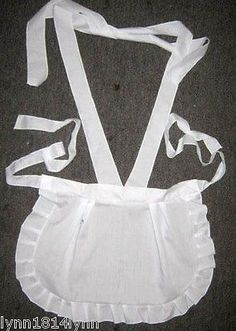 MAGENTA ROCKY HORROR PICTURE SHOW COSTUME APRON All sizes See store for ideas