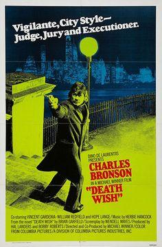 DEATH WISH (Michael Winner, USA, 1974)    Poster designer: uncredited