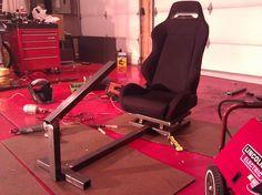 My racing seat.