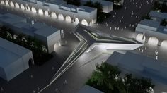"Bustler: ""Green Diamond"", an [AC-CA] Milan Expo pavilion Honorable Mention"