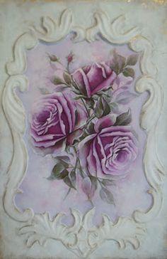purple roses (my favorite color)
