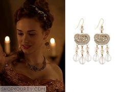 Reign: Season 2 Episode 8 Princess Claude's Dangle Earrings