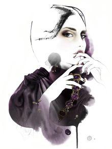 Mette Boesgaard illustration via Production Paradise Illustration Artists, Paradise, Fine Art, Spotlight, Cover, Artwork, Magazine, Instagram, Work Of Art