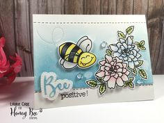 BEE Positive! – Honey Bee Stamps