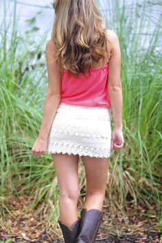Saint Simons Girl Dress: Coral | Hope's