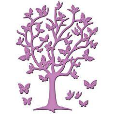 Spellbinders Shapeabilities Die D-Lites - Flutter Tree