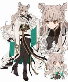 (19) ものくろ (@monoocrr2) 的媒体推文 / Twitter Fantasy Character Design, Character Design Inspiration, Character Concept, Character Art, Concept Art, Drawing Reference Poses, Anime Art Girl, Cute Art, Anime Characters