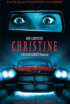 Based on the novel by Stephen King, Christine tells the story of a 1957 Plymouth that takes on human characteristics. Scary Movies, Good Movies, 80s Movies, Halloween Movies, Wednesday Movie, Stephen King Novels, Horror Movie Posters, Horror Film, Videos