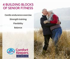 You're never too old to exercise! It's a necessary part of maintaining good health at any age.