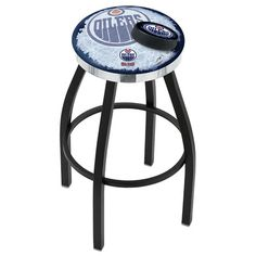 Holland Bar Stool NHL Swivel Bar Stool with Cushion