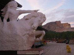 Crazy Horse Memorial - work in progress.