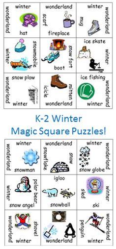 Kinder Garden: Activities For Winter On Pinterest
