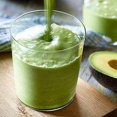 JASON MRAZ'S GREEN SMOOTHIE:  almond milk, avocado, banana, apple, celery, ginger, ice