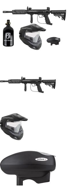 Marker Packages 47248: Delux Vtac Blackhawk Tango Paintball Gun Set 48Ci Hpa Tank, Goggles, Loader -> BUY IT NOW ONLY: $319.95 on eBay!