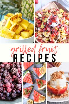 Grilling Recipes, Slow Cooker Recipes, Crockpot Recipes, Grilled Fruit, Grilled Meat, Good Food, Yummy Food, Most Delicious Recipe, Summer Dishes