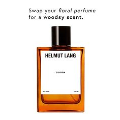 Try a woods-scented perfume to get you in the fall spirit