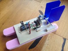 RC boat with NRF24L01+ and Arduino