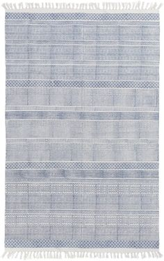 Bold and inspiring, the beautiful designs of this rug are sure to add something new and fresh to any decor. Hues of colors are emblazoned beautifully on this rug, which will be sure to make a bold statement about your décor.